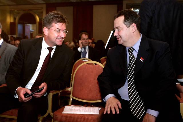 Ivica Da�iq dhe Miroslav Laj�ak | Foto: Beta